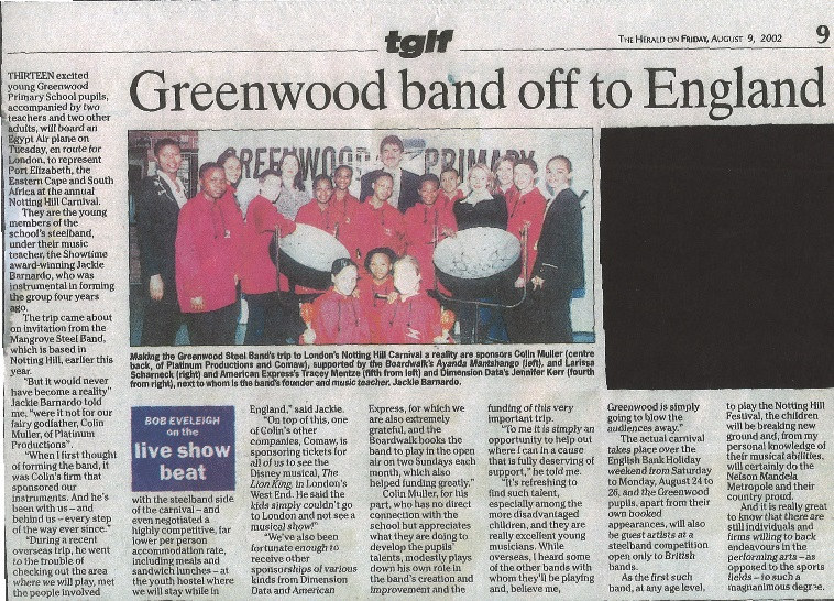 Greenwood in the News – Greenwood Primary School